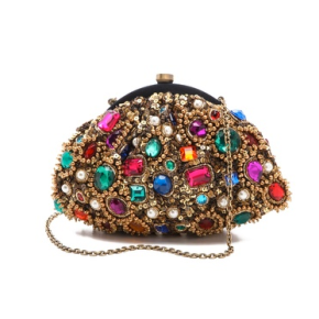 5 Santi jewel encrusted clutch at shopbop.com